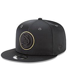 New Era Atlanta Hawks Full Satin 9FIFTY Snapback Cap