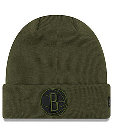 New Era Brooklyn Nets Fall Time Cuff Knit Hat