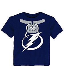 Outerstuff Tampa Bay Lightning Mock Lace Up T-Shirt, Toddler Boys