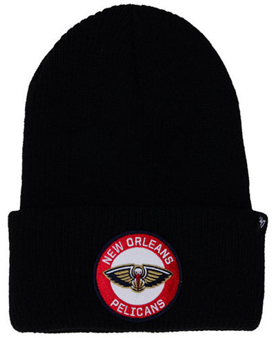 '47 Brand New Orleans Pelicans Ice Block Cuff Knit Hat