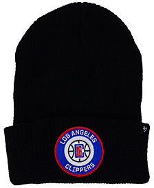 '47 Brand Los Angeles Clippers Ice Block Cuff Knit Hat