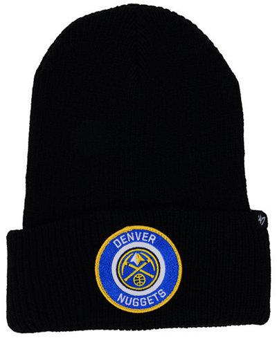 '47 Brand Denver Nuggets Ice Block Cuff Knit Hat