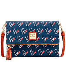 Dooney & Bourke Houston Texans Foldover Crossbody Purse