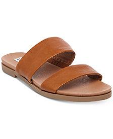 Steve Madden Women's Judy Flat Slide Sandals