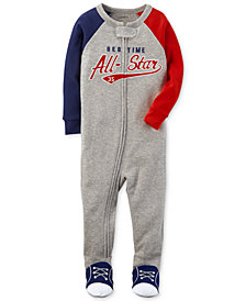 Carter's All-Star Graphic-Print Cotton Pajamas, Baby Boys