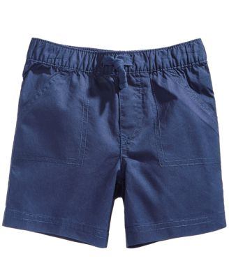 Woven Cotton Shorts, Baby Boys, Created for Macy's