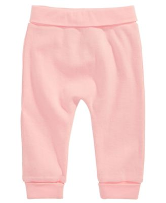 Cotton Jogger Pants, Baby Girls, Created for Macy's