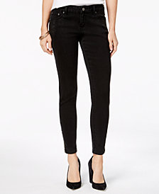 Indigo United Juniors' Studded-Pocket Skinny Jeans