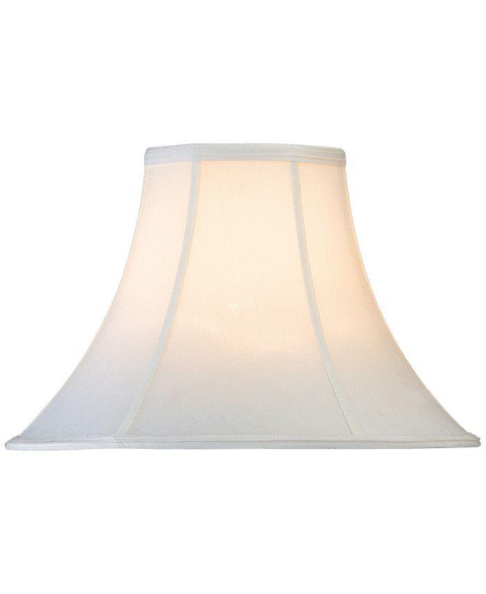 """Lite Source - Blatt Shantung Bell 16"""" Lamp Shade"""