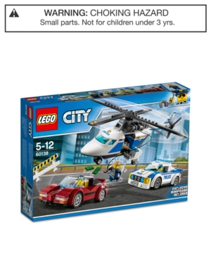 Lego City 294-Pc. Police High-Speed Chase 60138