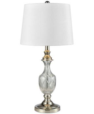 Dale Tiffany Chislett Crystal Table Lamp