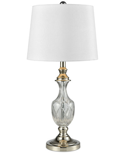 Dale Tiffany Chislett Crystal Table Lamp