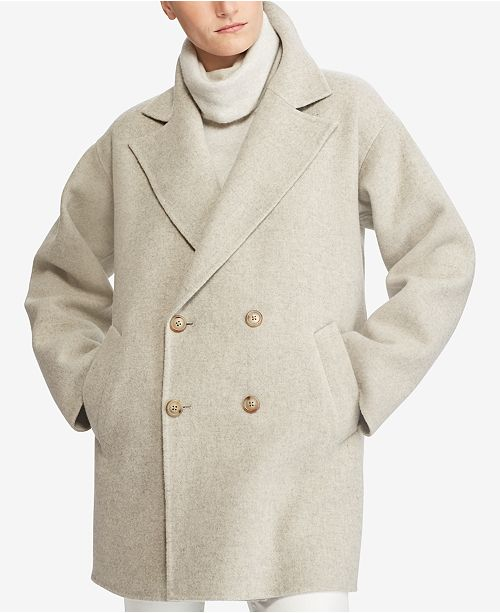 821bf713626 Polo Ralph Lauren Double-Breasted Coat   Reviews - Coats ...