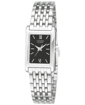 Citizen Women's Stainless Steel Bracelet Watch 18mm EJ5850-57E