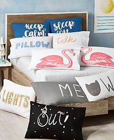 Whim by Martha Stewart Collection Paired Pillowcases Collection, Created for Macy's