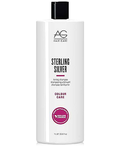 AG Hair Colour Care Sterling Silver Toning Shampoo, 33.8-oz., from PUREBEAUTY Salon & Spa