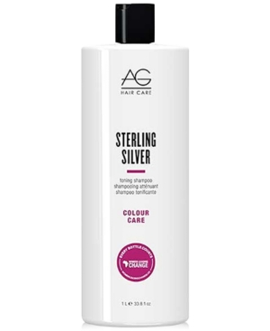 Image of Ag Hair Colour Care Sterling Silver Toning Shampoo, 33.8-oz, from Purebeauty Salon & Spa