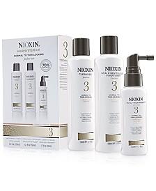 Nioxin 3-Pc. System 3 Set, from PUREBEAUTY Salon & Spa