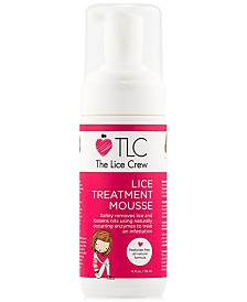 The Lice Crew Lice Treatment Mousse, 4-oz., from PUREBEAUTY Salon & Spa