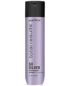 Total Results So Silver Shampoo, 10.1-oz., from PUREBEAUTY Salon & Spa