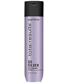 Matrix Total Results So Silver Shampoo, 10.1-oz., from PUREBEAUTY Salon & Spa