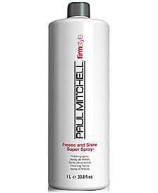 Paul Mitchell Freeze & Shine Super Spray, 33.8-oz., from PUREBEAUTY Salon & Spa