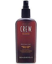 American Crew Medium Hold Spray Gel, 8-oz., from PUREBEAUTY Salon & Spa