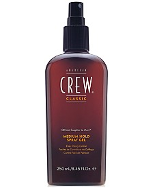American Crew Medium Hold Spray Gel, 8-oz., from PUREBEAUTY Salon & Spa