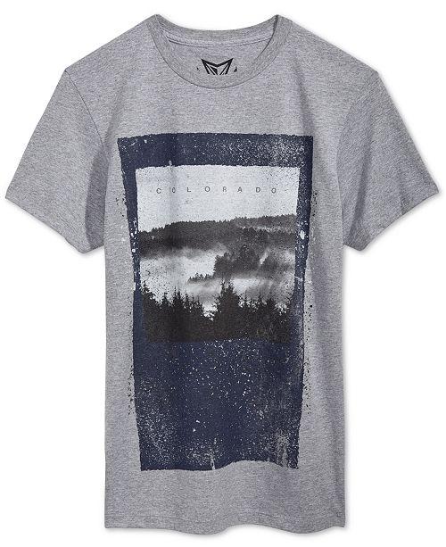 Univibe Men's Mile High Graphic-Print T-Shirt