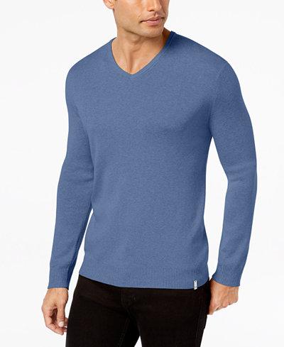 Calvin Klein Men's Cotton Modal Sweater