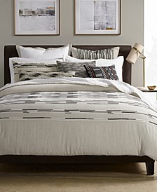 CLOSEOUT! Global Stripe Bedding Collection, Created for Macy's