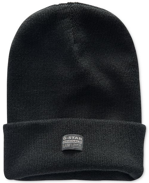 1fbf38b70a06a G-Star Raw Men s Originals Long Effo Beanie   Reviews - Hats