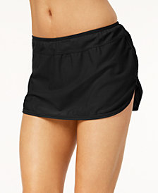 GO by Gossip Solid Swim Skirt, Created for Macy's