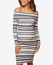 Motherhood Maternity Off-The-Shoulder Dress