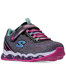 Skechers Little Girls' S Lights: Glimmer Lights Light Up Athletic Sneakers from Finish Line