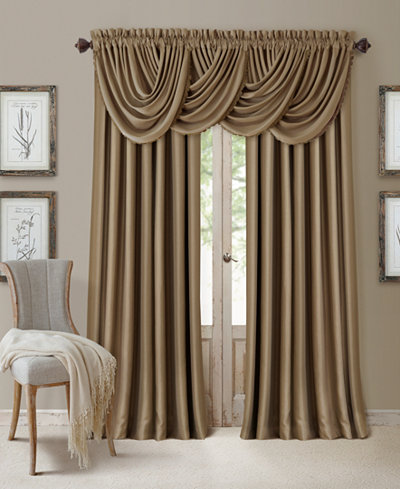 Elrene All Seasons Faux Silk Blackout Window Panel