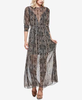 7 in 1 long dress