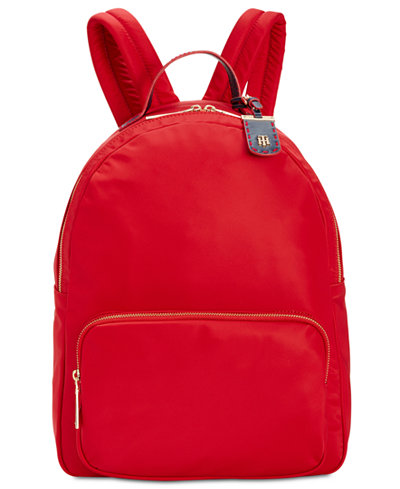 Tommy Hilfiger Julia Smooth Large Dome Backpack