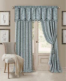 "Mia Jacquard 52"" x 84"" Blackout Curtain Panel"