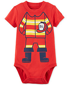 Carter's Firefighter Cotton Bodysuit, Baby Boys