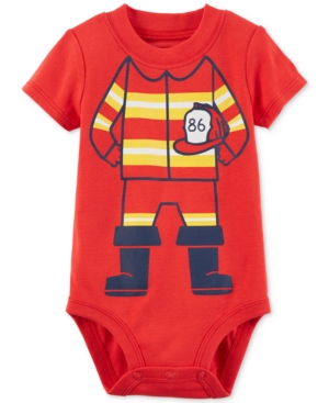 Carters Firefighter Cotton Bodysuit Baby Boys (024 months)