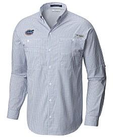 Columbia Men's Florida Gators Super Tamiami Long Sleeve Shirt