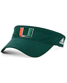 adidas Miami Hurricanes Sideline Visor