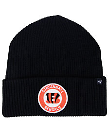 '47 Brand Cincinnati Bengals Ice Block Cuff Knit Hat