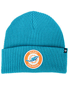 '47 Brand Miami Dolphins Ice Block Cuff Knit Hat