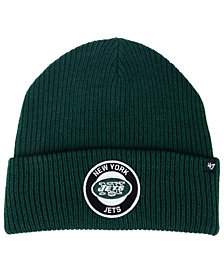 '47 Brand New York Jets Ice Block Cuff Knit Hat