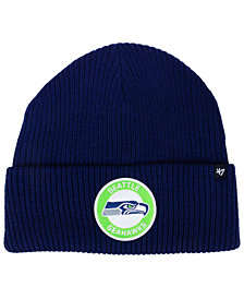 '47 Brand Seattle Seahawks Ice Block Cuff Knit Hat