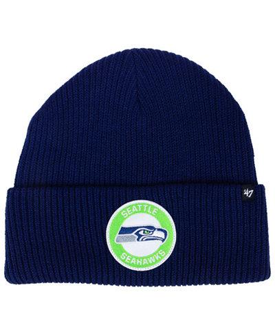 '47 Brand Seattle Seahawks Ice Block Cuff Knit Hat