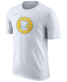 Nike Men's Los Angeles Lakers Hardwood Classics Logo T-Shirt