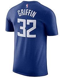 Nike Men's Blake Griffin Los Angeles Clippers Name & Number Player T-Shirt